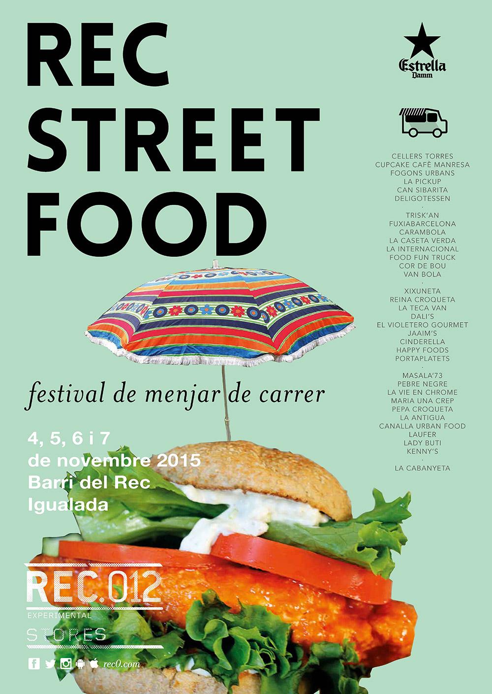 REC STREET FOOD 2015